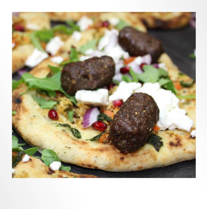 Koftes Pizza Polaroid Photo