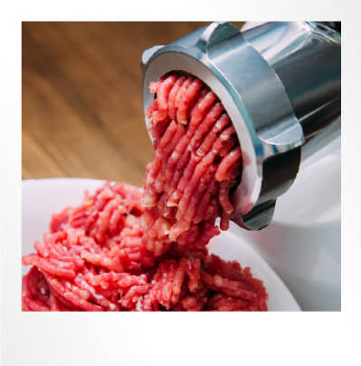 Meat Mincer Polaroid Photo